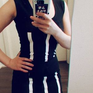 CHEAP MONDAY - walk the line dress - size Xs